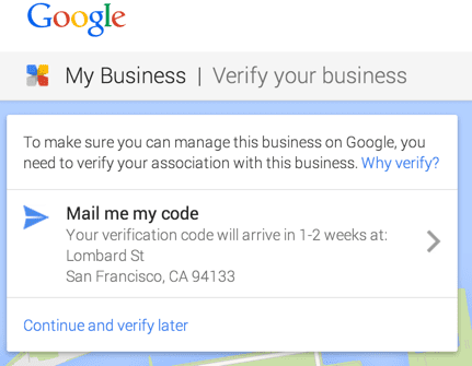 verification notice