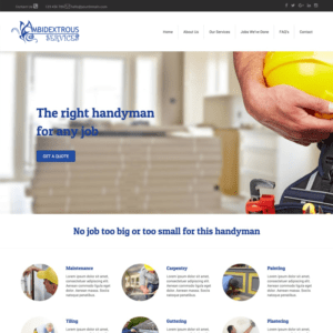 Local Small Business Web Package Example